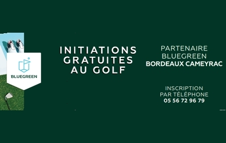 initiation gratuite golf bordeaux cameyrac