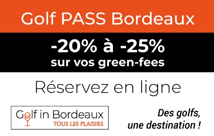 golf pass Golf in bordeaux