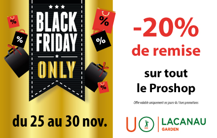 Opération black friday au proshop